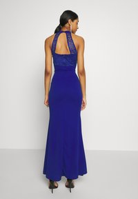 WAL G. - HALTER NECK DRESS - Vestido de fiesta - electric blue - 2