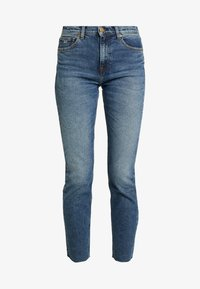 Tommy Jeans - HIGH RISE SLIM IZZY CROP ACMBC - Slim fit jeans - ace mid bl com - 4