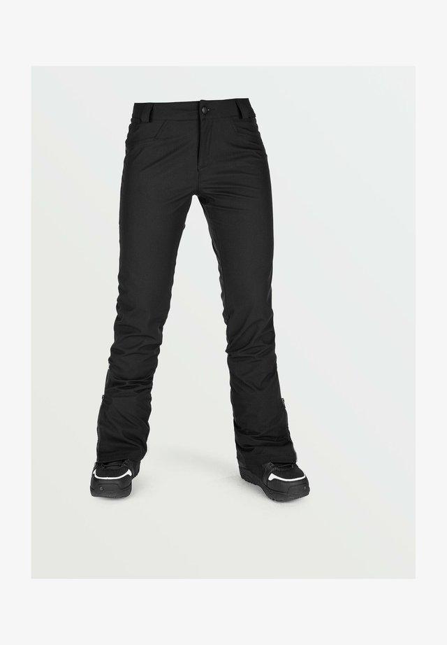 BATTLE STRETCH PANT - Pantaloni da neve - black