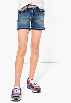 Denim shorts - blue denim