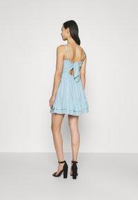 Hollister Co. - BARE SHORT DRESS  - Kjole - light blue - 2