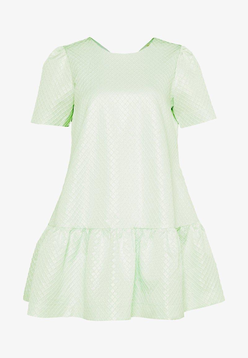YAS Petite - YASELSA DRESS SHOW - Cocktailjurk - misty jade