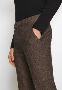 Shelby & Sons - BARAH TROUSER - Trousers - brown - 4
