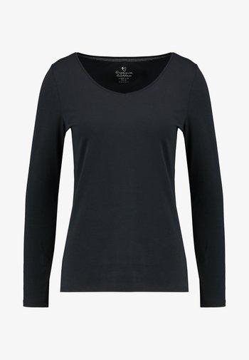 CORE  - Top sdlouhým rukávem - black