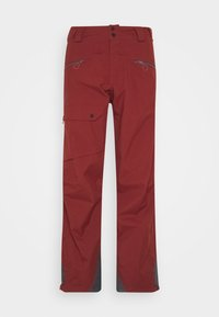 OUTPEAK SHELL BIB PANT - Snow pants - madder brown/ebony