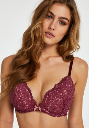 Push-up bra - red