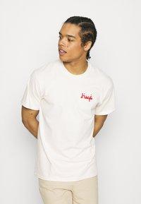 HUF - MOROCCAN TILE TEE - Print T-shirt - natural - 0