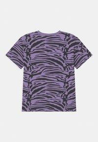 Lindex - MINI ZEBRA UNISEX - T-shirt print - light dusty lilac - 1