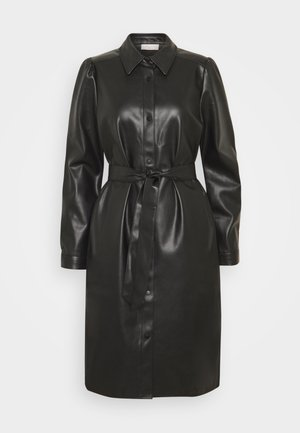 HARLEY - Shirt dress - black