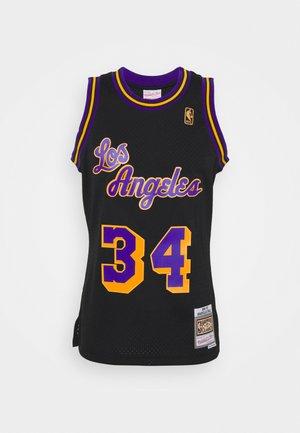 NBA LOS ANGELES LAKERS RELOAD SWINGMAN SHAQUILLE O'NEAL - Fanartikel - black