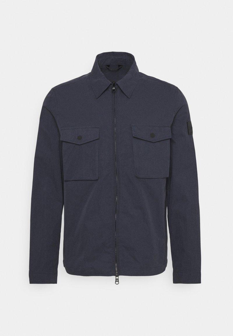 Calvin Klein Tailored - LIGHT SHIRT JACKET - Giacca leggera - navy