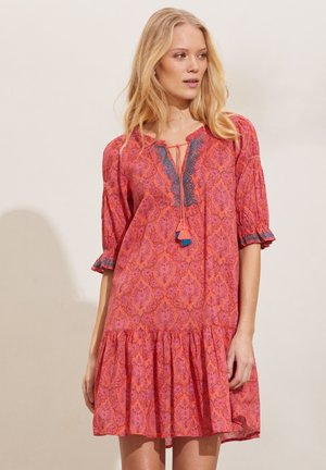 ISABELLE - Day dress - living coral