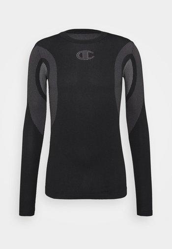 LONG SLEEVE - Pitkähihainen paita - black