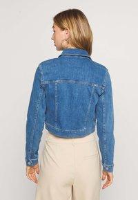 NA-KD - PAMELA REIF X NA-KD JACKET - Denim jacket - light blue - 2
