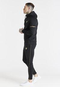 SIKSILK - EXPOSED TAPE ZIP THROUGH  - Zip-up sweatshirt - black - 4