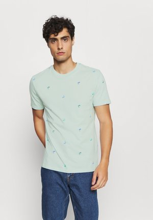 CREW CRITTER  - T-shirt con stampa - orange