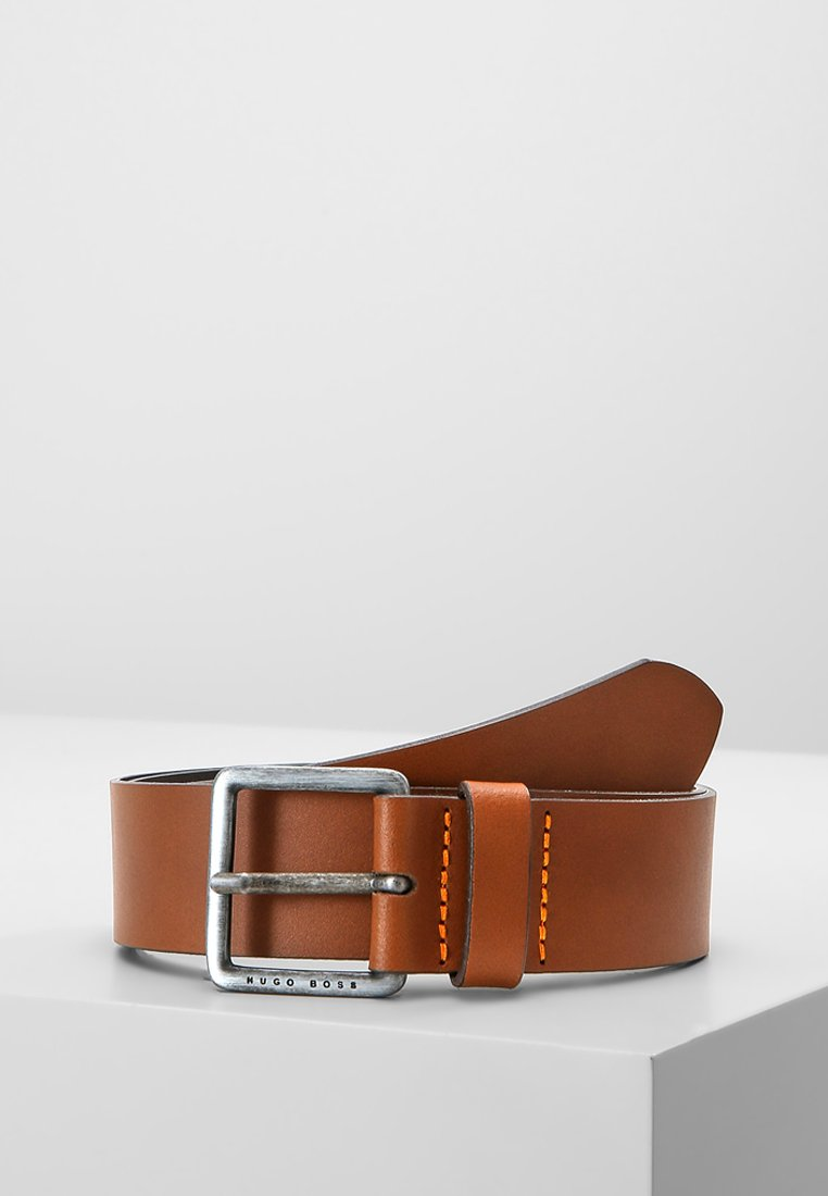 BOSS - JEEKO - Formální pásek - medium brown