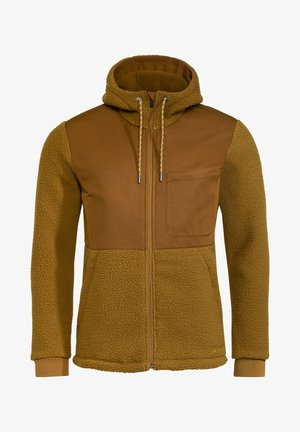MENS MANUKAU JACKET - Fleece jacket - bronze
