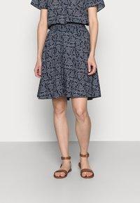 Marc O'Polo - SKIRT - A-line skirt - multi - 0