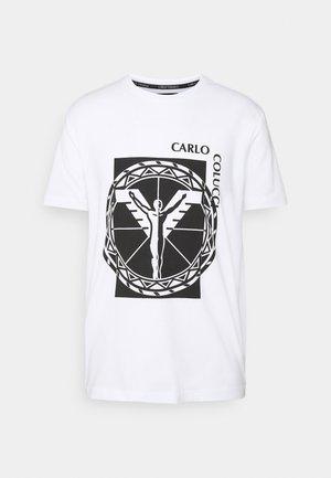 BIG LOGO - Print T-shirt - weiss