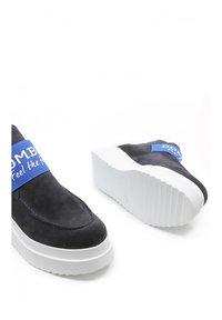 DOMBERS - GRAVITY - Boots à talons - dark blue - 4