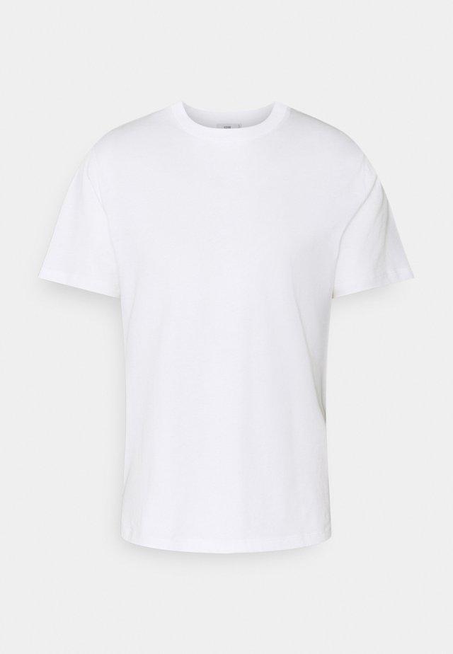 ROUND NECK  - T-shirts basic - white