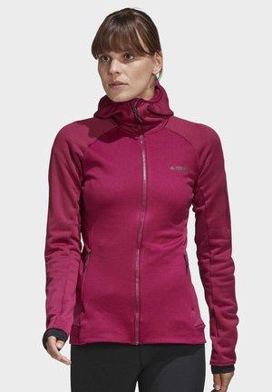 STOCKHORN CLIMAWARM HOODED SWEATSHIRT - Træningsjakker - pink