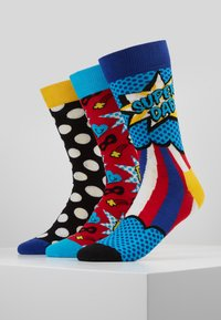 Happy Socks - FATHER'S DAY GIFT BOX 3 PACK - Calze - multi - 0