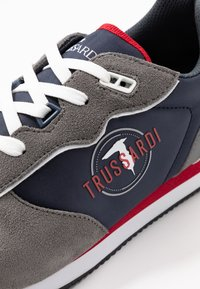 Trussardi Jeans - Trainers - blue/grey/red - 5