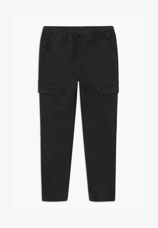BREX - Cargo trousers - black