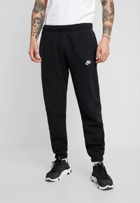 Nike Sportswear - CLUB PANT - Tracksuit bottoms - black - 0