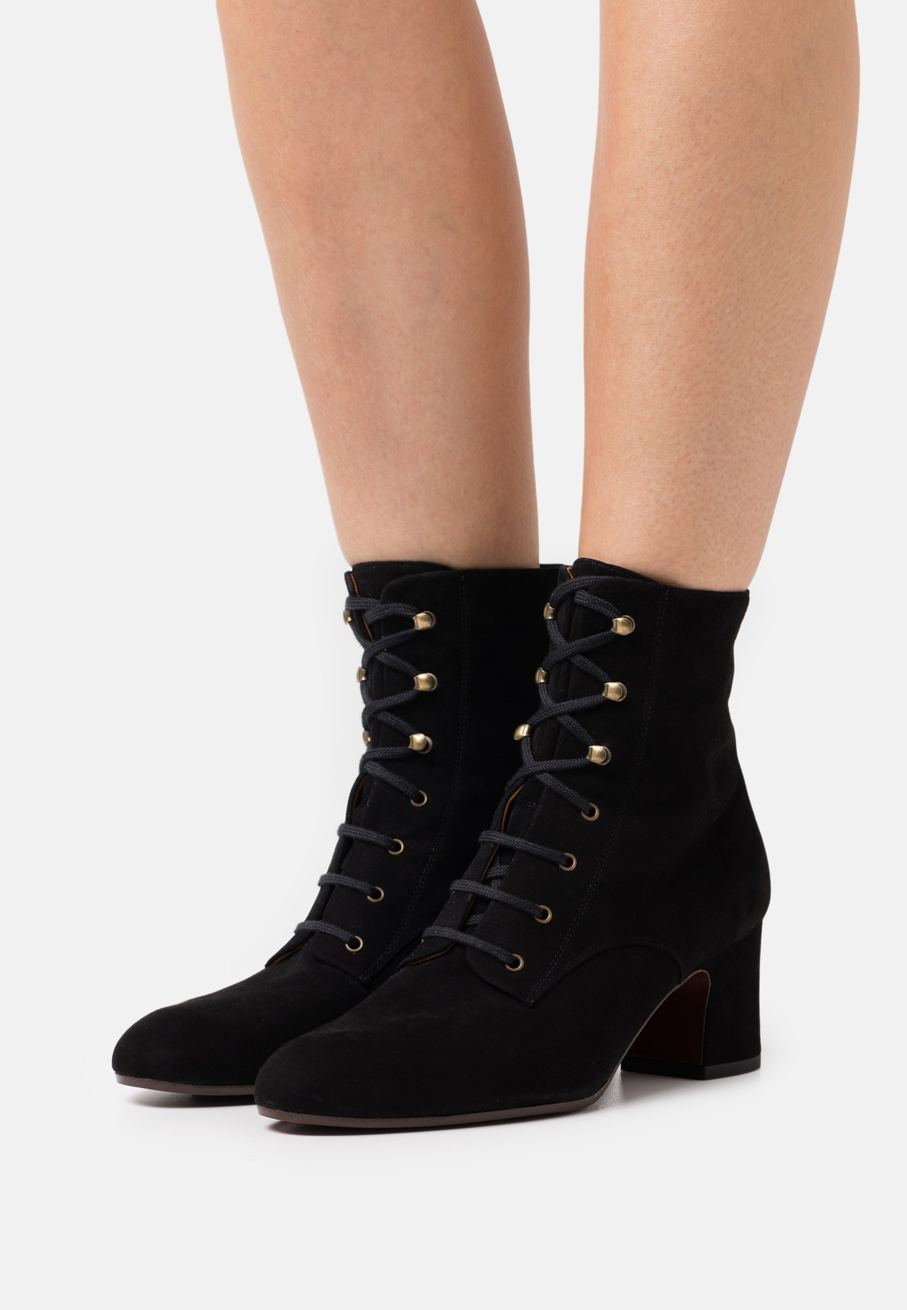 Women NAKO - Lace-up ankle boots