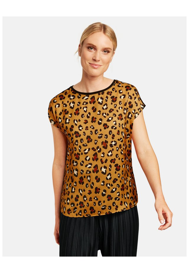T-shirt imprimé - golden glow gemustert