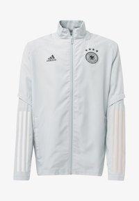 adidas Performance - GERMANY PRESENTATION TRACK TOP - Training jacket - grey - 0
