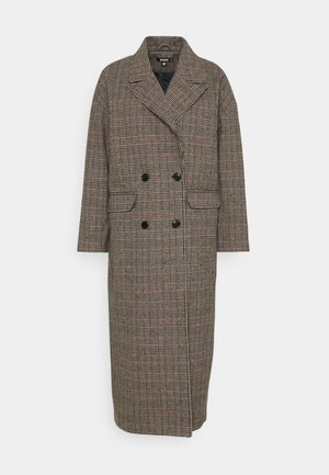 HERITAGE CHECK - Classic coat - brown