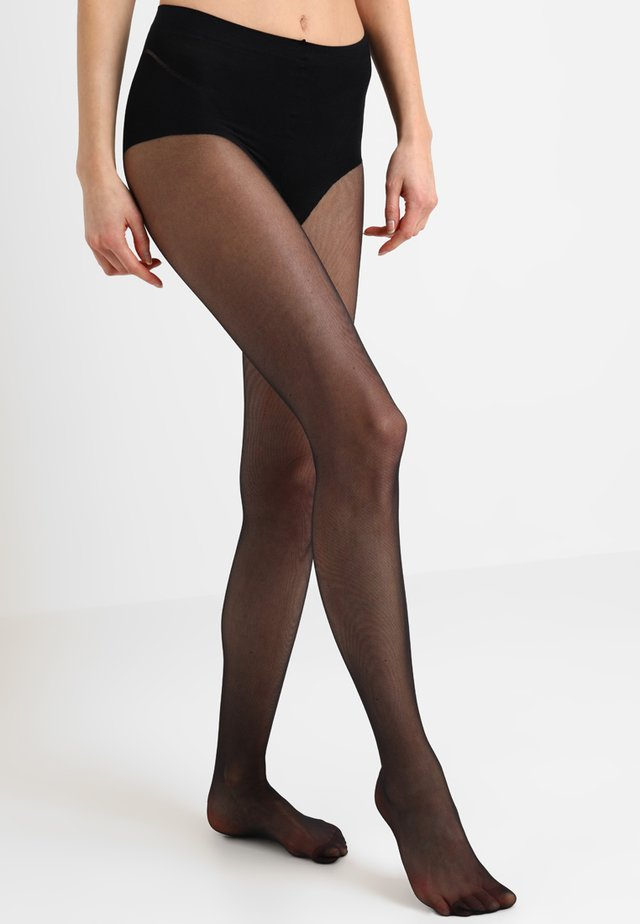 HIGHLEG TONER TIGHTS  - Sukkahousut - black