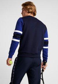 Lacoste Sport - SWEATER - Sweatshirt - navy blue/ocean/white - 2