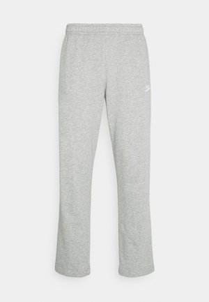 CLUB PANT - Pantalones deportivos - grey heather/matte silver/white