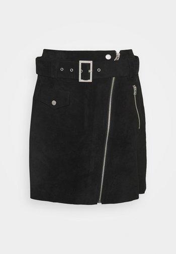NEILA - Mini skirt - black