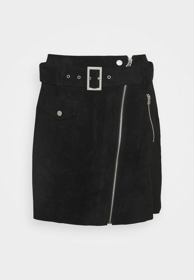 NEILA - Mini skirt - black