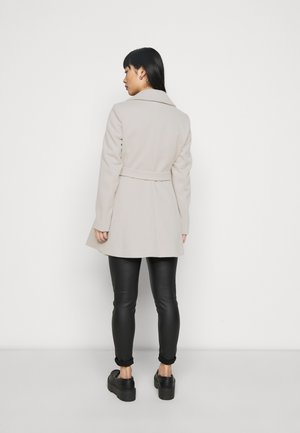 WRAP COAT - Kåpe / frakk - grey