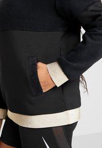 Nike Performance - ICON - Jersey con capucha - black/metallic gold - 5