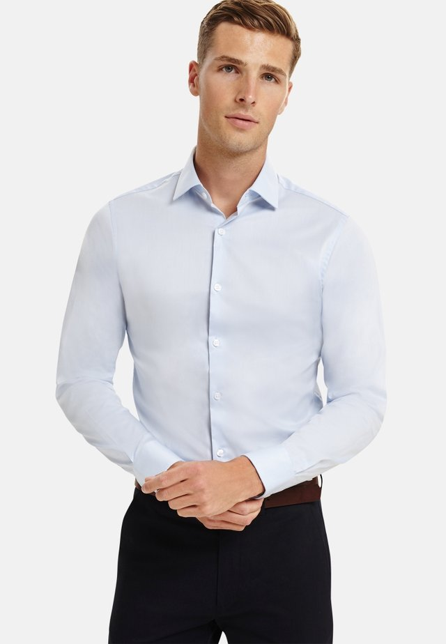 SUPER FITTED STRETCH - Formal shirt - blue