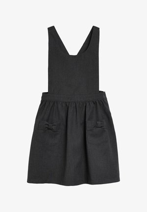 BOW PINAFORE  - Korte jurk - grey