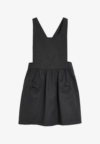 BOW PINAFORE  - Vestido informal - grey
