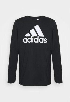 Bluzka z długim rękawem - black/white
