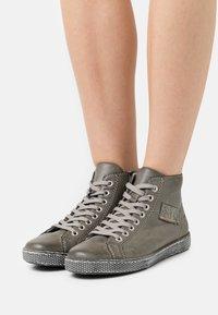 Rieker - Lace-up ankle boots - grau - 0