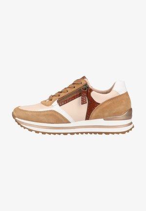 Sneakers laag - panna/sella/cognac