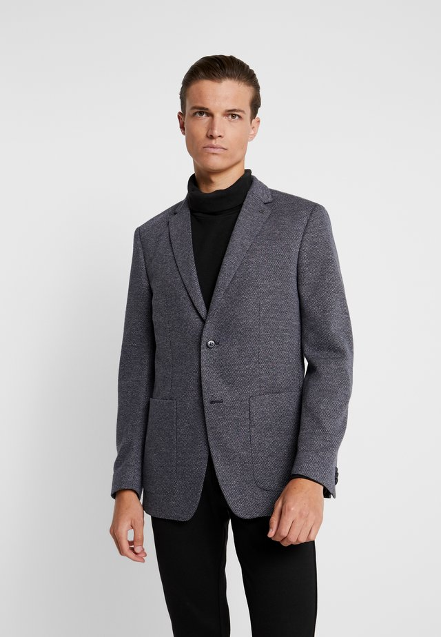 TWO TONE  PATCH  REGULAR FIT - Blazer - blue