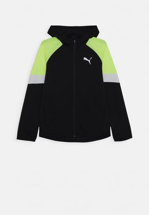 ACTIVE SPORTS FULL ZIP HOODIE - Zip-up hoodie - black